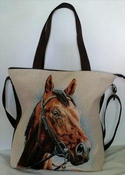 Női válltáska-ló