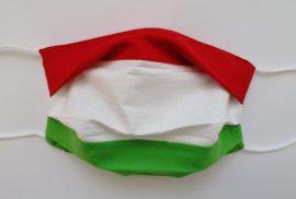 Magyar zászló maszk