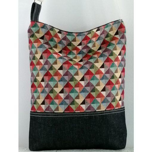 Mozaik mintás női táska